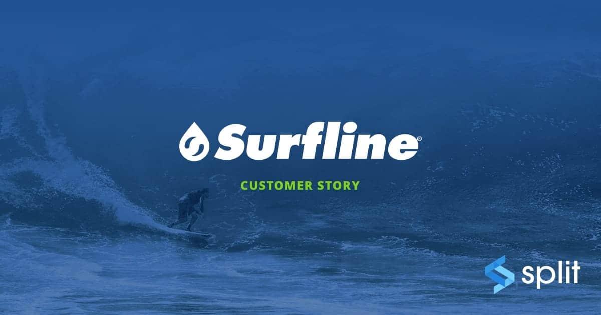 feature flags experimentation for surfline split