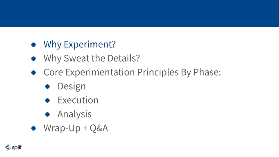 Why conduct online controlled experiments?