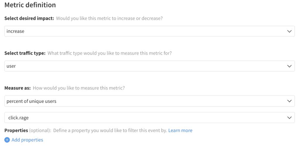 Implementation of Frustration Rate metric in Split